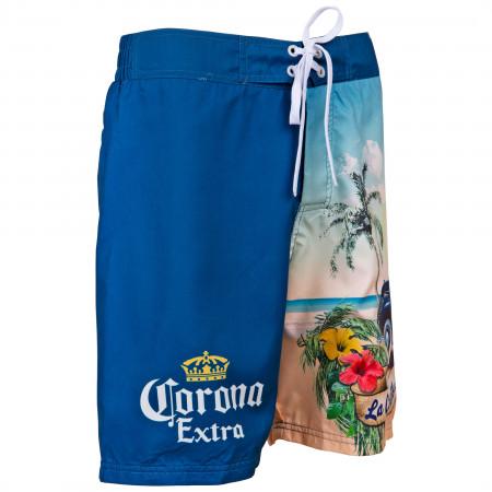 Corona Extra Crown Symbol and Beach Swimsuit
