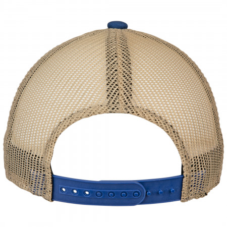 Blue Moon Logo Trucker Mesh Snapback Hat
