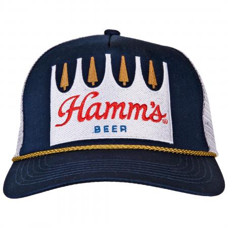 Hamm's Beer Trucker Mesh Snapback Hat