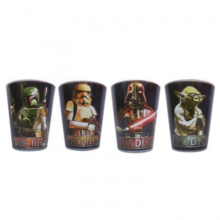 Star Wars Character Shot Glass Set