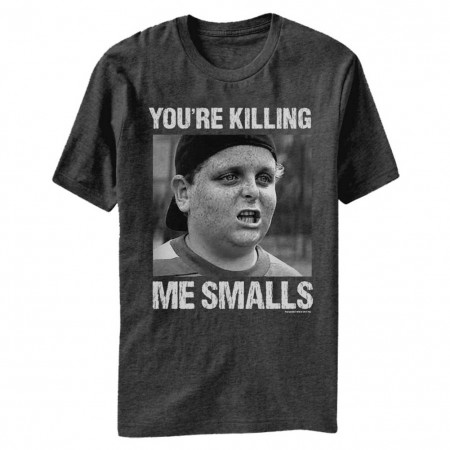 The Sandlot Killing Me Smalls Heather Charcoal T-Shirt