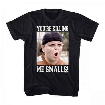 The Sandlot Angry Killing Me Smalls Black T-Shirt