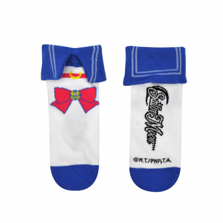 Sailor Moon Cosplay Collar Low Cut Socks