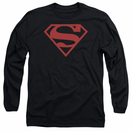 Superboy Symbol Long Sleeve T-Shirt