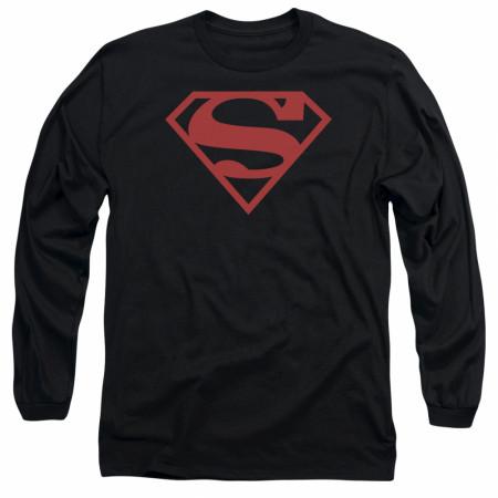 Superboy Symbol Long Sleeve T-Shirt