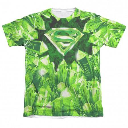 Superman Kryptonite Logo Sublimation T-Shirt