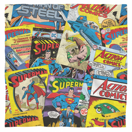 Superman Vintage Comics Bandana