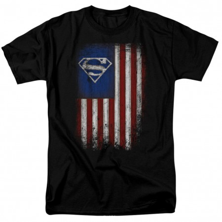 Superman Old Glory Men's T-Shirt