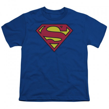 Superman Classic Logo Youth T-Shirt