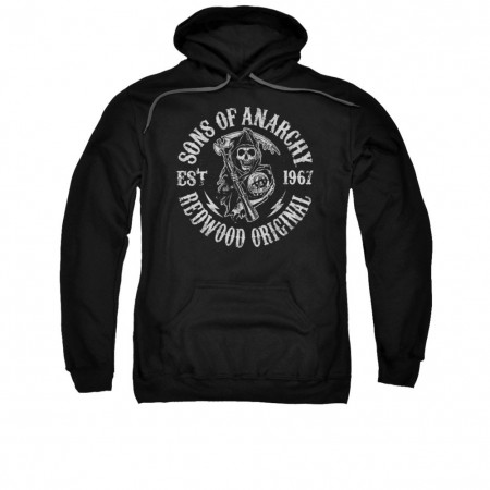 Sons Of Anarchy Redwood Black Pullover Hoodie