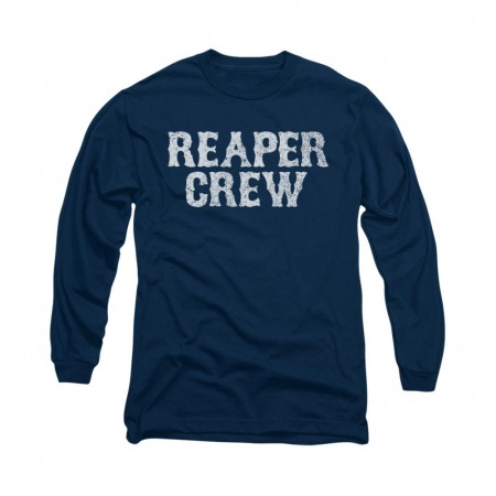 Sons Of Anarchy Reaper Crew Blue Long Sleeve T-Shirt