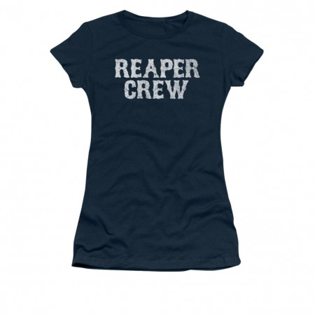 Sons Of Anarchy Reaper Crew Blue Juniors T-Shirt