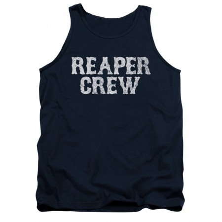 Sons Of Anarchy Reaper Crew Blue Tank Top