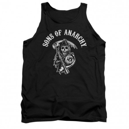 Sons Of Anarchy SOA Reaper Black Tank Top