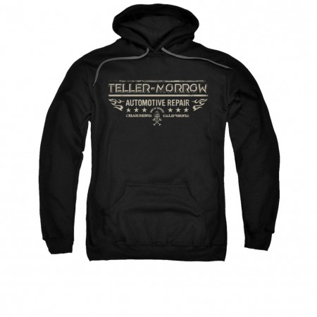 Sons Of Anarchy Teller Morrow Black Pullover Hoodie