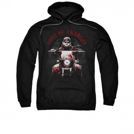 Sons Of Anarchy Ride On Black Pullover Hoodie