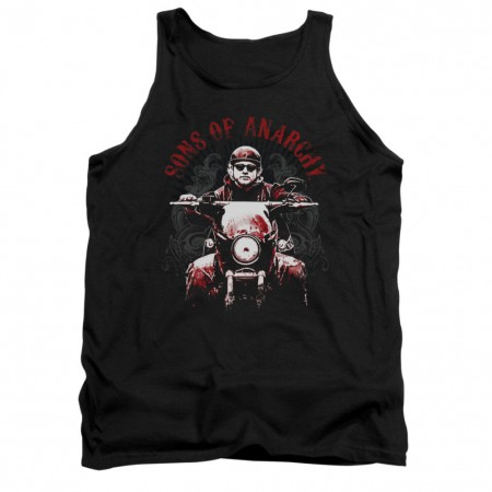 Sons Of Anarchy Ride On Black Tank Top