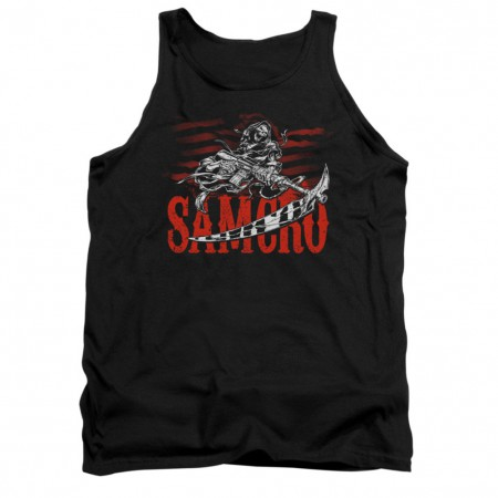 Sons Of Anarchy Acronym Black Tank Top