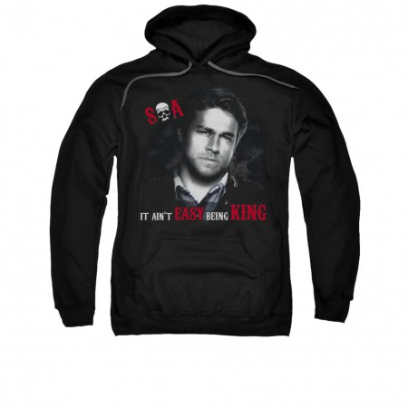 Sons Of Anarchy Being King Black Pullover Hoodie