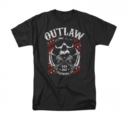 Sons Of Anarchy Outlaw Black T-Shirt