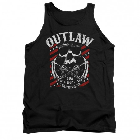 Sons Of Anarchy Outlaw Black Tank Top