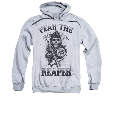 Sons Of Anarchy Fear The Reaper Gray Pullover Hoodie