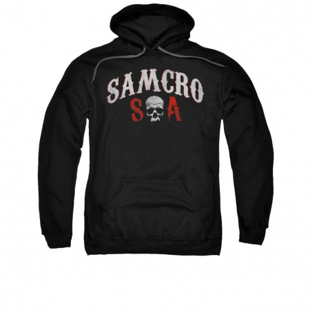Sons Of Anarchy SAMCRO Forever Black Pullover Hoodie