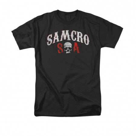 Sons Of Anarchy SAMCRO Forever Black T-Shirt