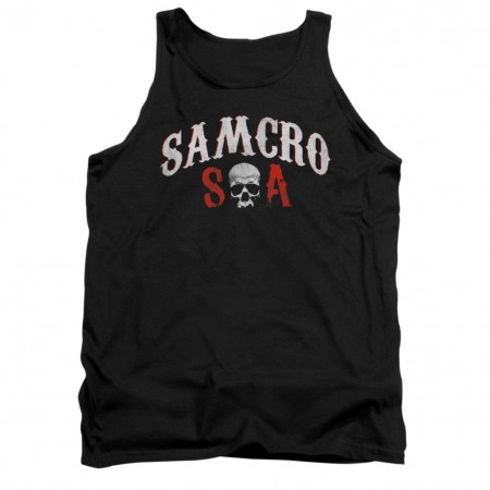 Sons Of Anarchy SAMCRO Forever Black Tank Top