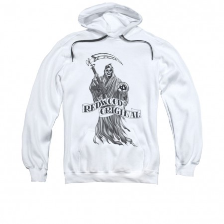 Sons Of Anarchy Redwood Originals White Pullover Hoodie