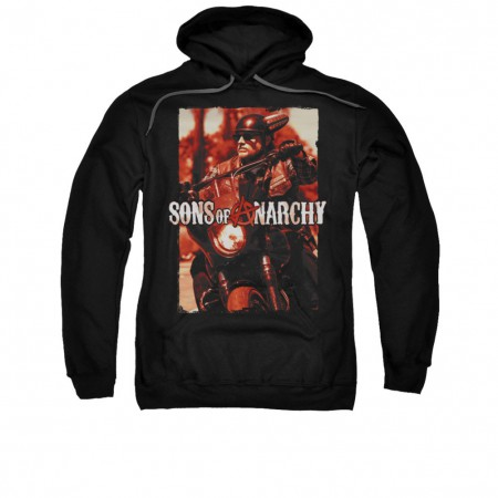 Sons Of Anarchy Code Red Black Pullover Hoodie