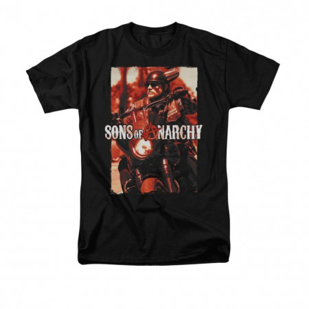 Sons Of Anarchy Code Red Black T-Shirt
