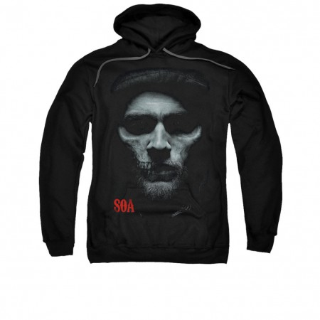 Sons Of Anarchy Skull Face Black Pullover Hoodie