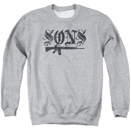 Sons Of Anarchy Sons Guns Crewneck Sweatshirt