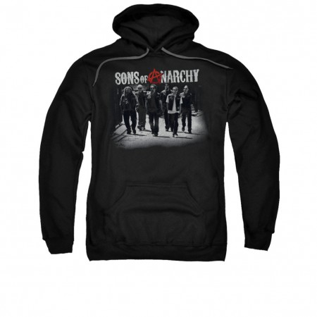 Sons Of Anarchy Rolling Deep Black Pullover Hoodie