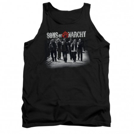 Sons Of Anarchy Rolling Deep Black Tank Top