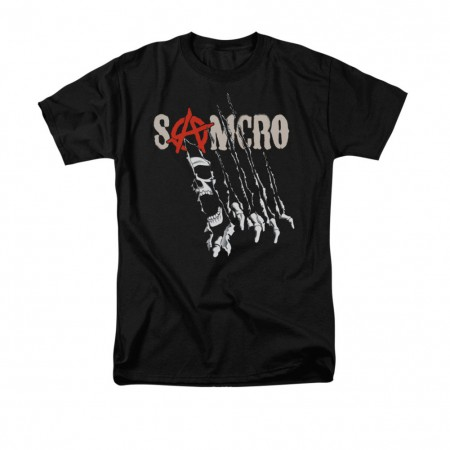 Sons Of Anarchy Rip Through Black T-Shirt