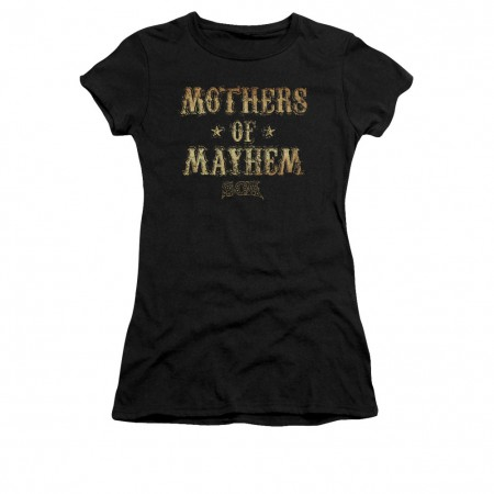 Sons Of Anarchy Mothers Of Mayhem Black Juniors T-Shirt