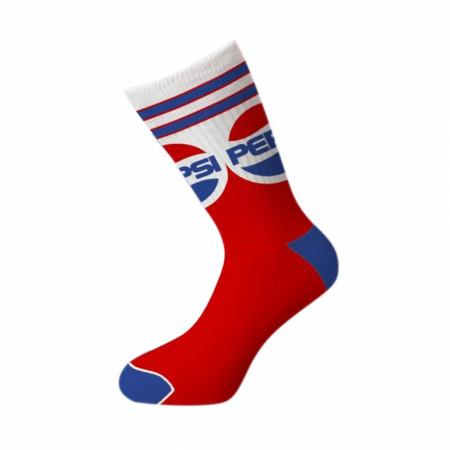 Pepsi Vintage Design Crew Socks