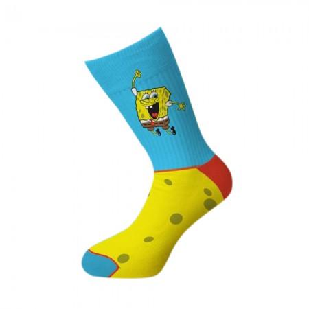Spongebob Joyus Crew Socks