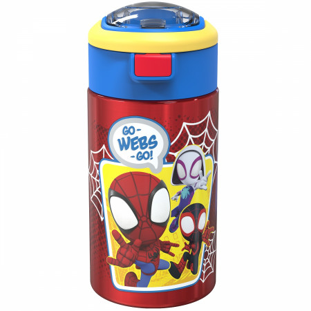 Spider-Man Go-Webs-Go! 12oz Flex Sip Travel Tumbler