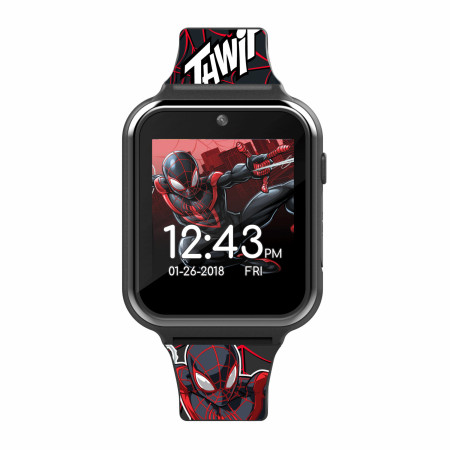 Miles Morales Spider-Man Accutime Interactive Kids Watch