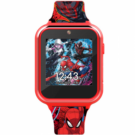 Spider-Man Into the Spiderverse Interactive Square Digital Kids Watch