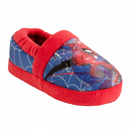 Spider-Man Swinging Web Kids House Slippers