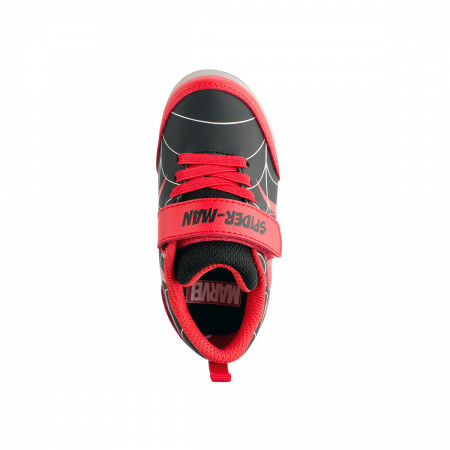 Spider-Man Face Symbol Kids Motion Light Up Shoes