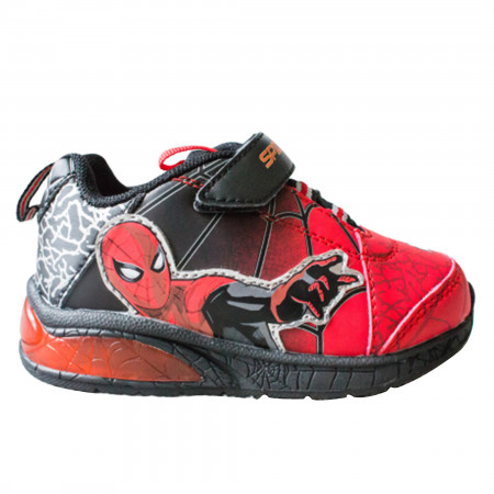 Spider-Man Kids Light Up Shoes
