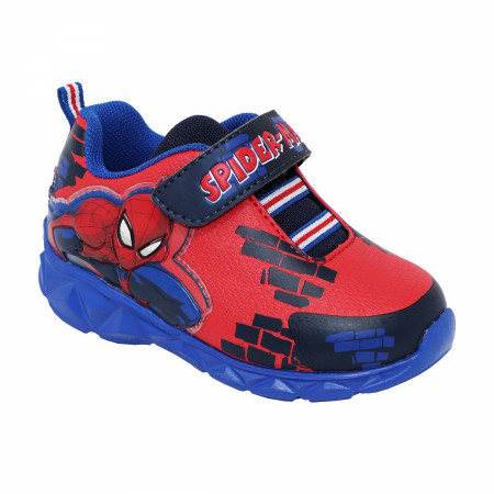Marvel Spider-Man Attack Stance Kids Light Up Shoes