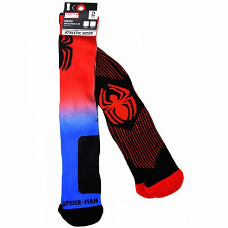 Spider-Man Classic Symbol Athletic 2-Pack Socks