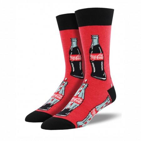 Coca Cola Red Last Drop Men's Socks