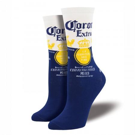 Corona Extra Blue & White Classic Logo Women's Socks